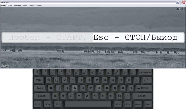 Stamina - клавиатурный тренажер.
