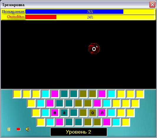 Клавиатурный тренажер.