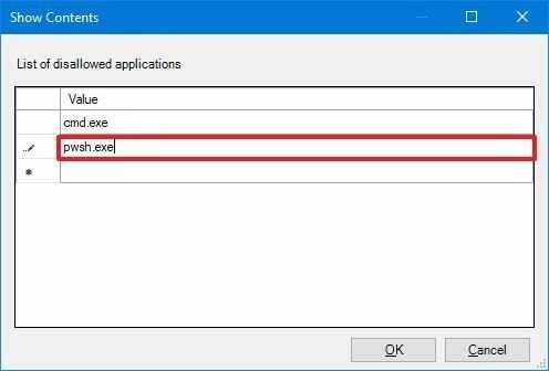 Как заблокировать доступ к приложениям рабочего стола на Windows 10