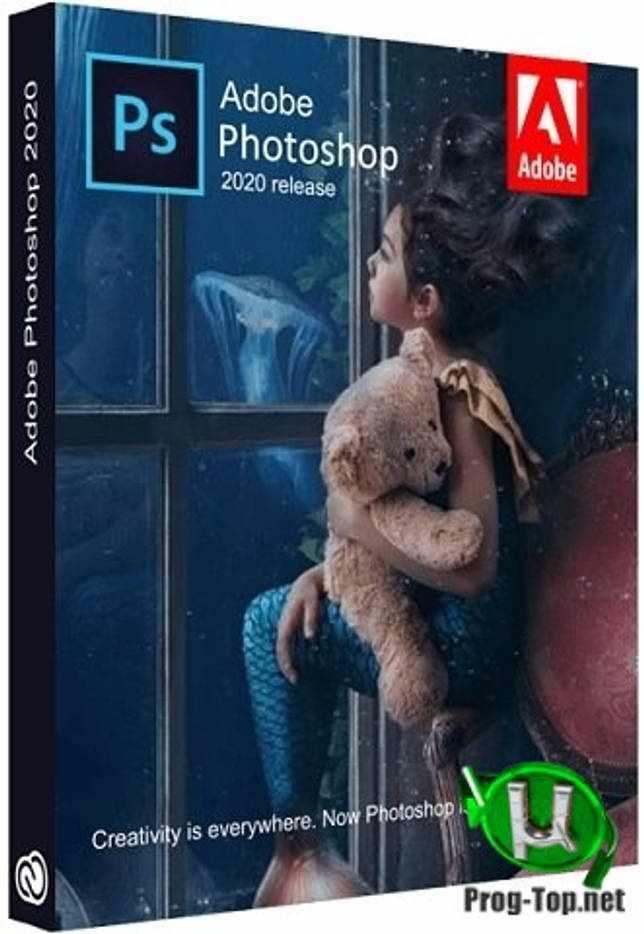 Adobe Photoshop графический редактор 2020 21.2.3.308 RePack by KpoJIuK
