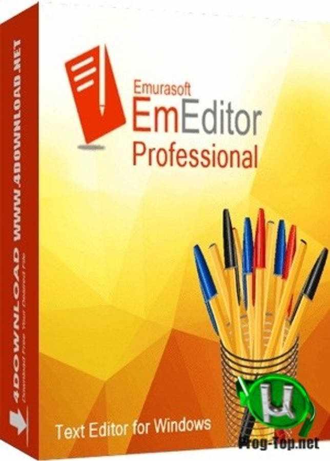 Расширенный текстовый редактор - Emurasoft EmEditor Professional 20.1.2 RePack (& Portable) by KpoJIuK