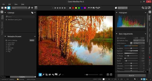 Corel AfterShot Pro 3.6.0.380 скачать бесплатно