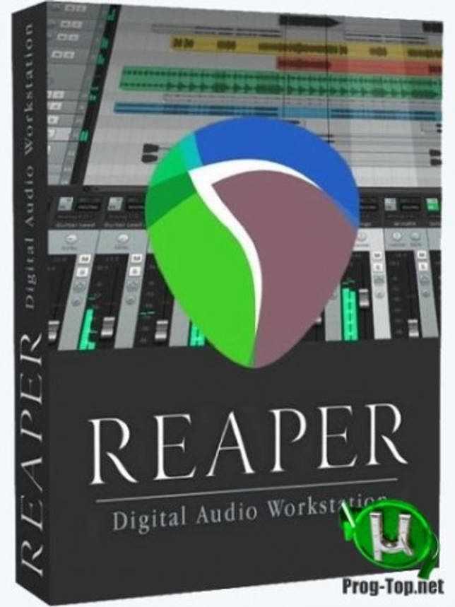 Cockos REAPER создание музыки 6.14 (x86/x64) RePack (& Portable) by xetrin