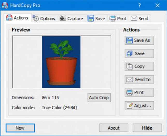 HardCopy Pro 4.15.2 screenshot