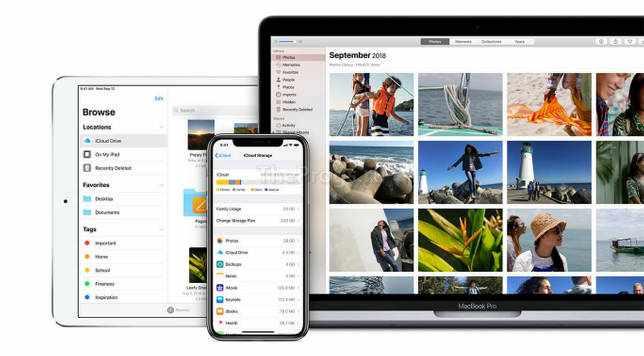 iCloud на компьютере, планшете и телефоне