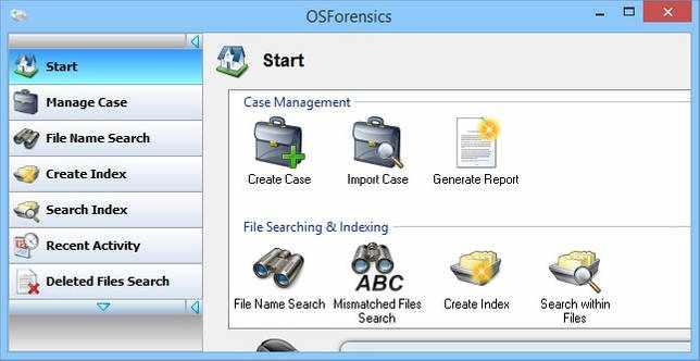 OSForensics 7.1 Build 10106