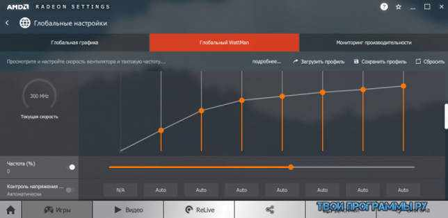 AMD Radeon Software Adrenalin Edition русская версия