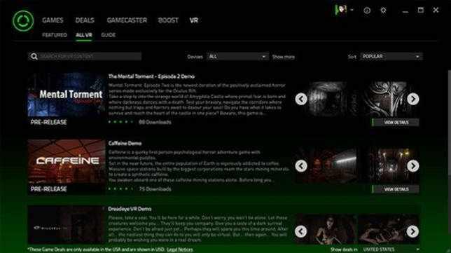 Razer Cortex Game Booster 9.10.8.1270 на русском для Windows 7-10 скачать бесплатно