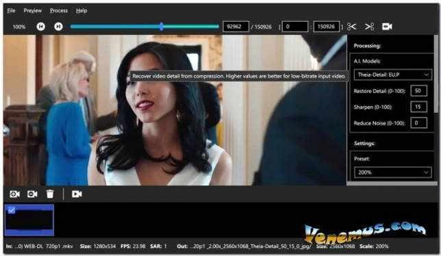 Topaz Video Enhance AI v.1.4.2 (RePack & Portable)