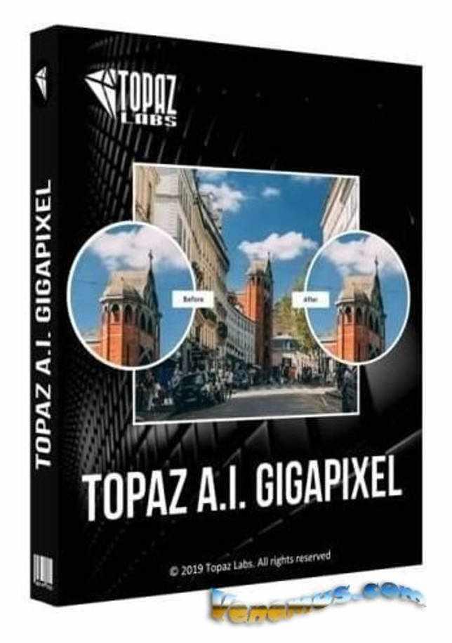 Topaz Gigapixel AI v.5.0.4 (RePack & Portable)