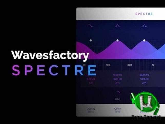 Форматирование звука - Wavesfactory - Spectre 1.5.5 VST, VST3, AAX (x64)