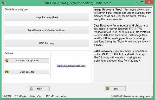 Zero Assumption Recovery 10.0.1779